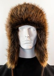 Natural Long Hair Beaver Full Skin Musher Hat