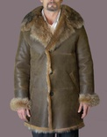 Spanish Lamb Car Coat B/L 35""