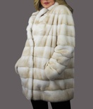 Palomino Crossed Mink Coat