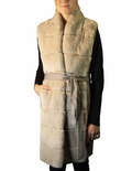 REX Vest with Wool Blend Panels