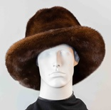 Mahogany Mink Full Skin Country Hat