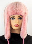 Mink Full Skin Musher Hat