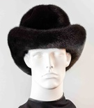 Ranch Mink Full Skin Homburg Hat