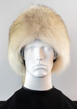 Coyote Full Skin Davy Crockett Hat with Tail