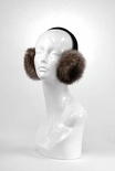 Natural Raccoon Earmuffs