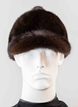 Mink Ball-Top Baseball Hat