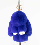 Rabbit Figurine Rex Key Chain