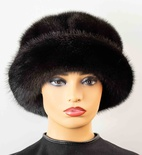 Ranch Mink Full Skin Cloche Hat