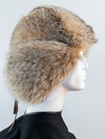 Canadian Lynx Full Skin Musher Hat