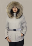 Insulated Soft Shell Jacket with Finnish Raccoon Ruff