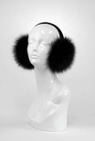 Black Fox Earmuffs