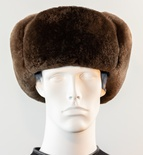 Sheared Beaver Full Skin Trooper Hat