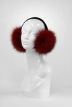 Red Indigo Fox Earmuffs