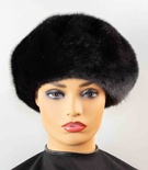 Ranch Mink Full Skin Beret Hat