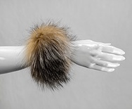 C1 - Crystal : Fox Fur Cuffs (1 pair)